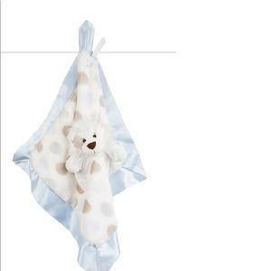 Little Giraffe Luxe Dot Lion Blanket